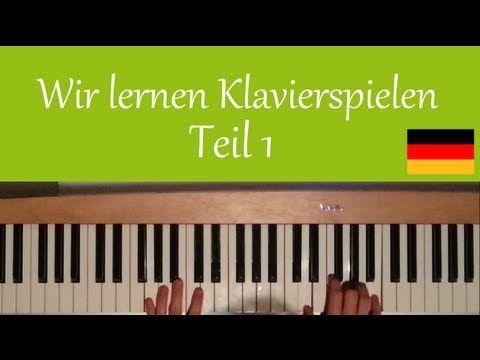Wir lernen Klavierspielen - #1 - Grundlagen und erste Tonleitern - YouTube