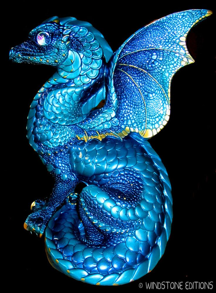 Blue dragon by *Reptangle on deviantART