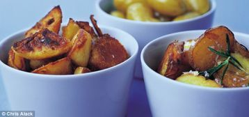 Annie Bell's Perfect Potatoes To Partner the Poultry Winning ways with spuds - only the best will do for our top-notch roasts. http://www.mydish.co.uk/recipe/9582/annie-bells-perfect-potatoes-to-partner-the-poultry  #mydish.