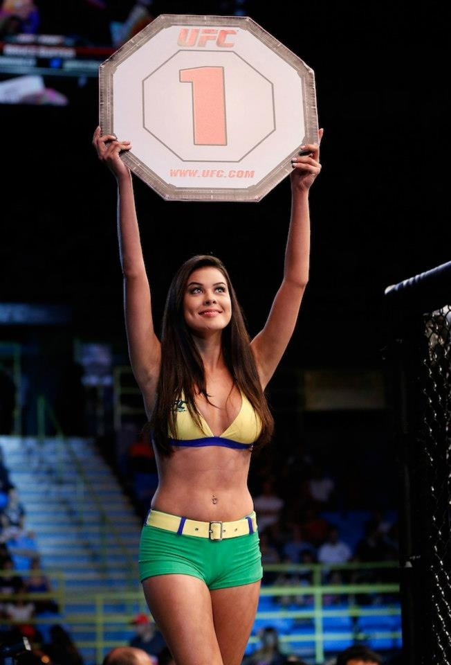 how to become a ring girl for ufc