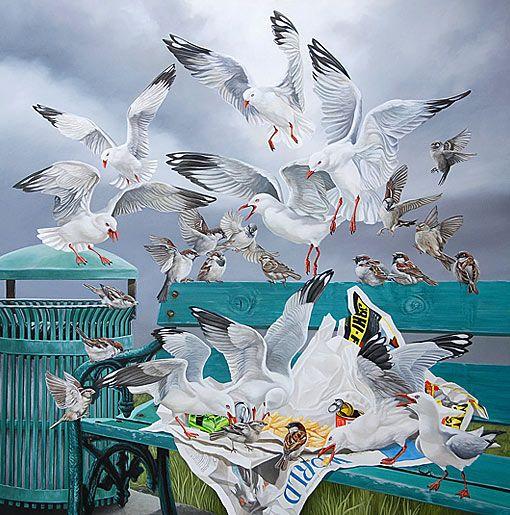 craig platt nz bird artist