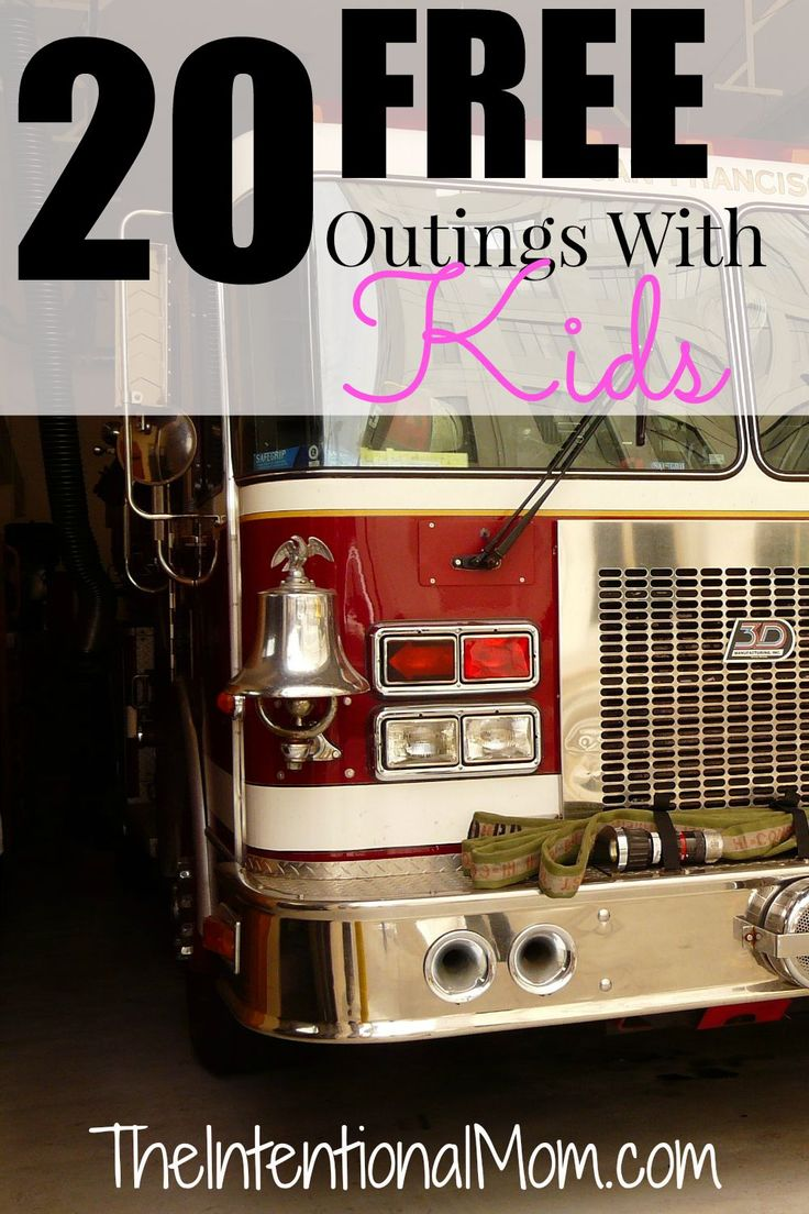 Looking for some free outings with your kids? Here are 20 creative ideas that will keep you and your kids busy. Appropriate for any age, you will LOVE these