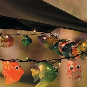 1000 images about plastic bottle crafts on pinterest for Fish string lights