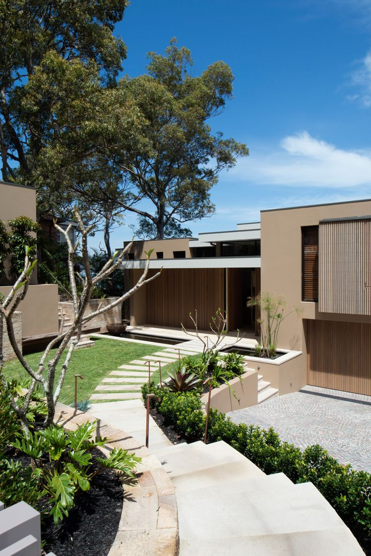 Corben Architects have designed the renovation of the Clareville House in Sydney, Australia.