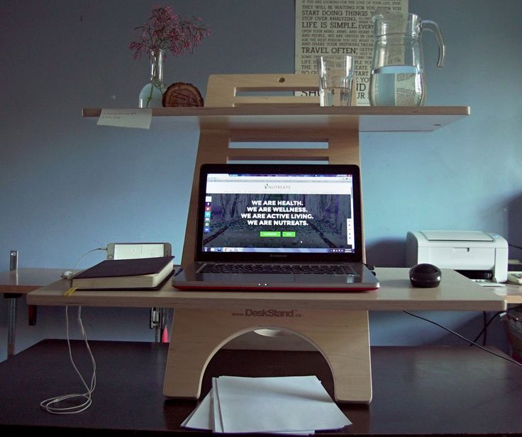 Why  you should use a standing desk #healthyoffice #decor #ergonomics