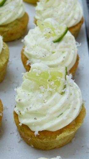 Noix de coco citron vert. Glaçage creamcheese.