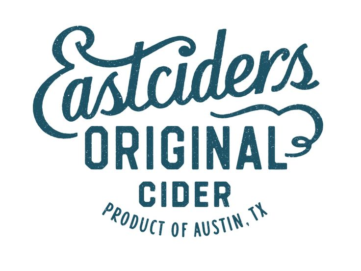 Eastciders Original by Simon Walker #lettering #logo #typo #typography