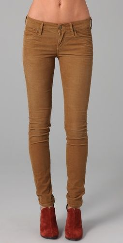 Citizens of Humanity corduroy avendon skinny jeans - gotta get them in every color!
