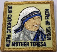 Catholic Scout Patch Program: Mother Teresa. Campfire GirlsAmerican Heritage ...