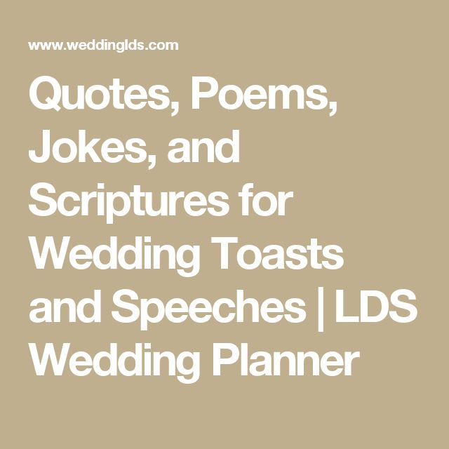 25 Best Wedding Toast Quotes On Pinterest