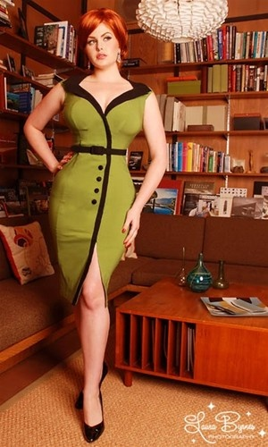 Secretary Dress for a gal with curves