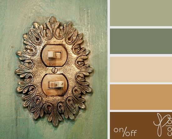 These colors would look good in one room together