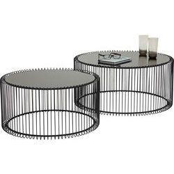 сделать столик в 132 Coffee Table Wire Black (2/Set)