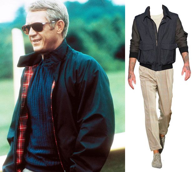 with widows steve mcqueen fashions his version of the - 614×551