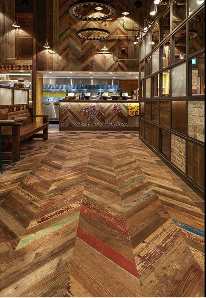 Nandos Lakeside uses products from Havwoods graphic range, as well as from our Henley range