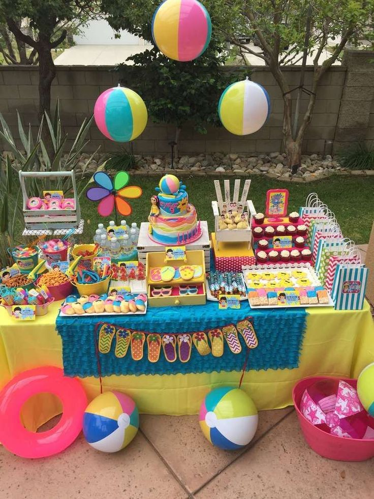 Swimming/Pool/Summer Party Summer Party Ideas | Photo 2 of 36 | Catch My Party