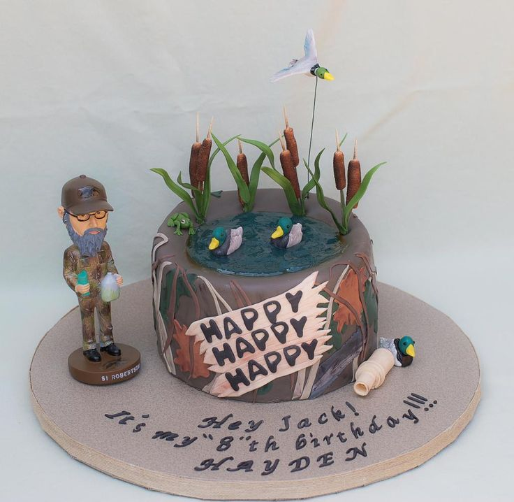 duck dynasty cake ideas - Google Search