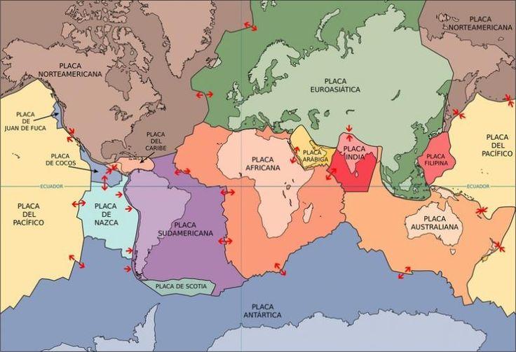 ¿Cuántas placas tectónicas existen? - Batanga