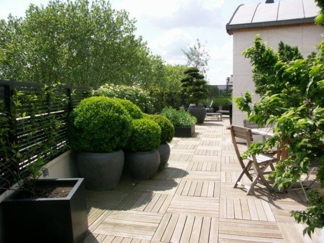 Revetement Terrasse 57 Idees D Inspiration Pour Les Sols Terrasse Design Revetement Terrasse Amenagement Terrasse