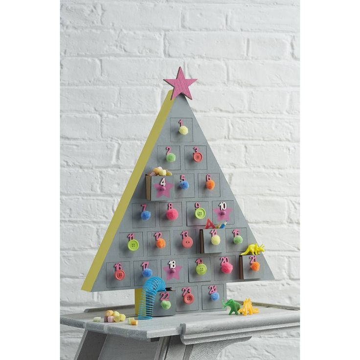 1000 images about advent calender on pinterest advent for Christmas tree advent calendar diy