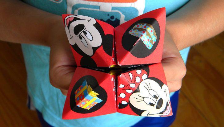 Invitación Comecocos de Mickey y Minnie para el cumple de tu pequeño