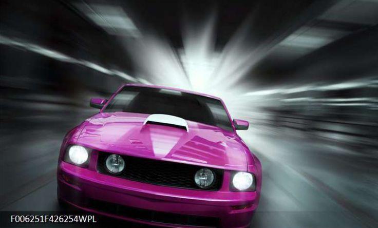 Snelle sportauto of klassieker? Zie alle fotobehang met afbeelding met auto's: https://www.schilderijenart.nl/fotobehang/automotive-art-fotobehang/fotobehang-mustang-kleur-paars-roze-grijs-f006251wp.html