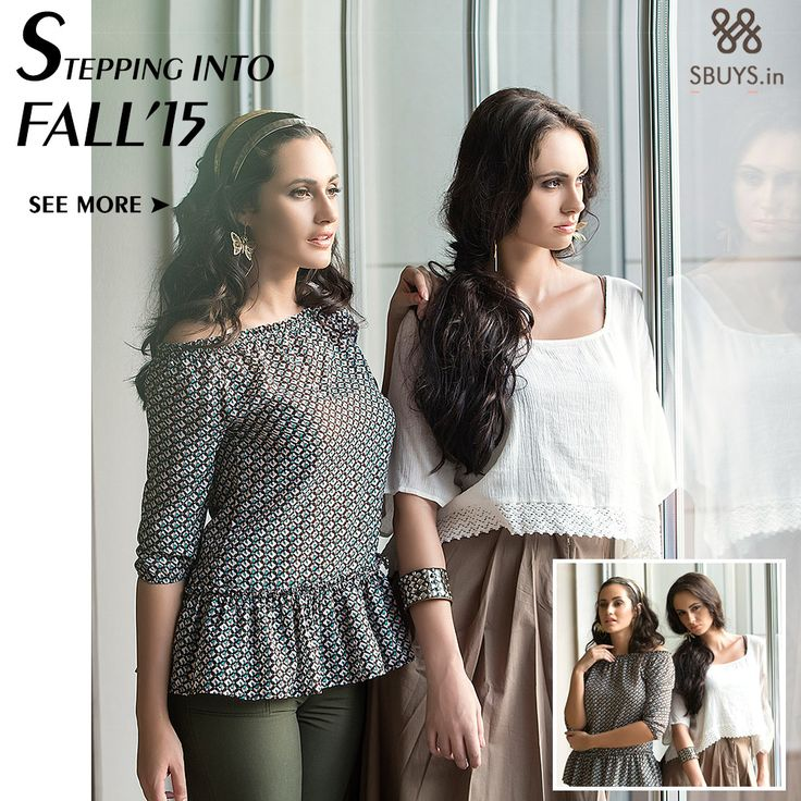 Step into Fall with our NEW Collection with dazzling prints, motifs, and patterns. Colors are combined, some faded and others vivid. Shop our new trendy and classic collection. www.sbuys.in #sbuys #fallcollection #fallfashion #fashiontrend