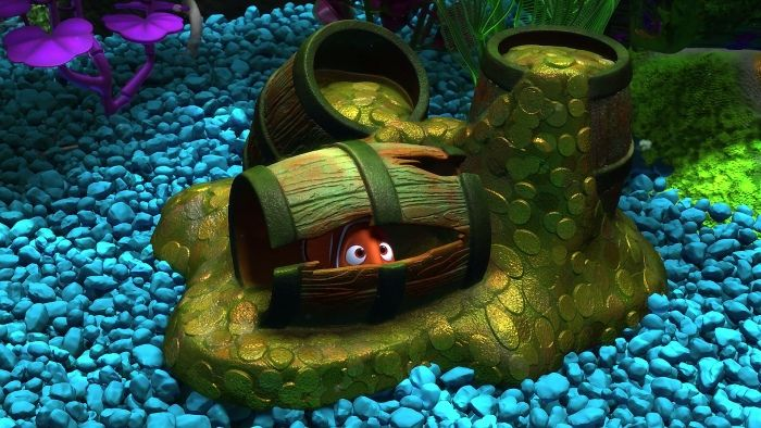889 best images about finding nemo disney on pinterest for Marlins fish tank