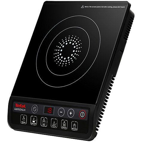 Buy Tefal IH201840 Everyday Portable Induction Hob Online at johnlewis.com