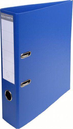 Exacompta 53752E Classeur à Levier PVC 2 Anneaux Format A4 Dos de 70 mm Bleu Foncé: Description du produit: Exacompta – 53752E Type de…