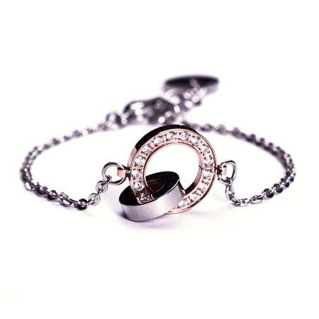 Edblad eternity orbit rosegold bracelet - hardtofind.