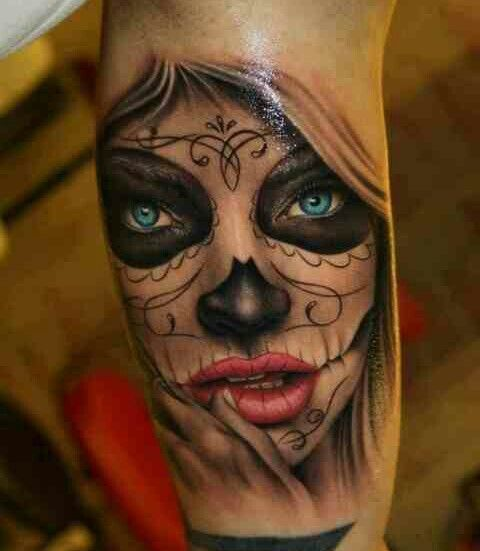 177 best catrina tattoo images on pinterest tattoo ideas la catrina and chicano art. Black Bedroom Furniture Sets. Home Design Ideas