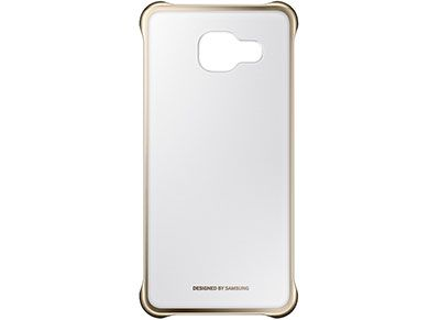 Θήκη Samsung Galaxy A3 2016 - Samsung Clear Cover - Χρυσό
