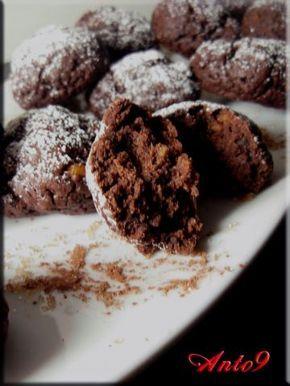 Biscotti allo yogurt e cacao..... senza uova e senza burro!!!! Fatti con yogurt di soia diventano vegan.