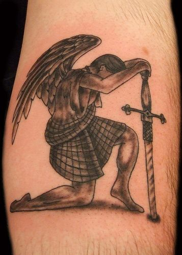 Guardian Angel Tattoo   Paulo Madeira Tattoo Artist and Body…   Flickr