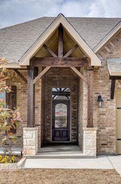 Castlegate II - traditional - Exterior - Austin - Omega Builders