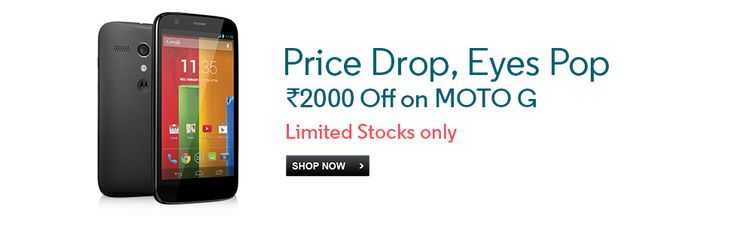 Moto G gets Rs 2000 discount to compete Xiaomi Mi3