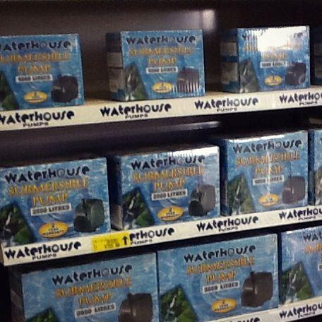Waterhouse Merchandising. Great, neat shelves. Get your Waterhouse Pump today!