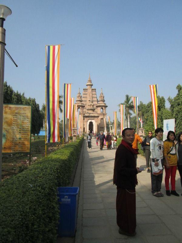 Varanasi, India  Buddha temple in varanasi