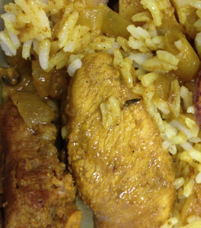 Jamaican Curry Chicken is rich, spicy and hearty with great flavor. Jamaican Curry Chicken is one of the favorite dishes of Jamaicans. If you are looking for the real Jamaican-style curry chicken try our easy-to-follow recipe.