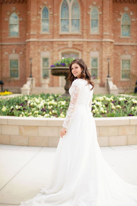 Provo City Center Temple Wedding Lds Bride Marriage Time And All