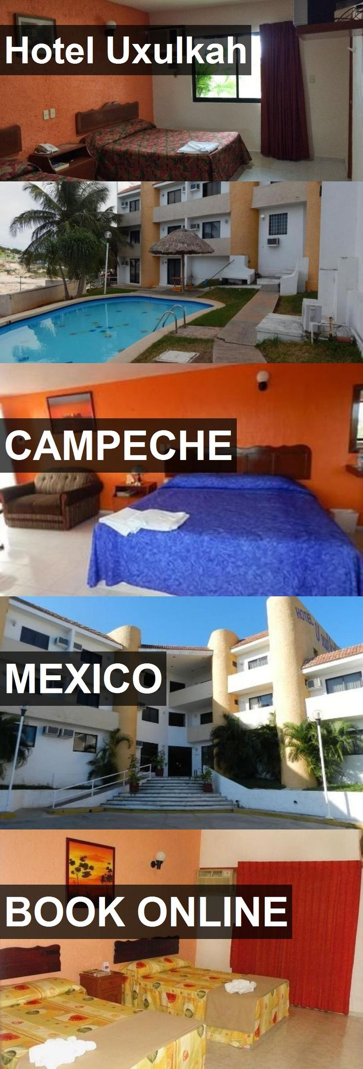 Hotel Uxulkah in Campeche, Mexico. For more information, photos, reviews and best prices please follow the link. #Mexico #Campeche #travel #vacation #hotel