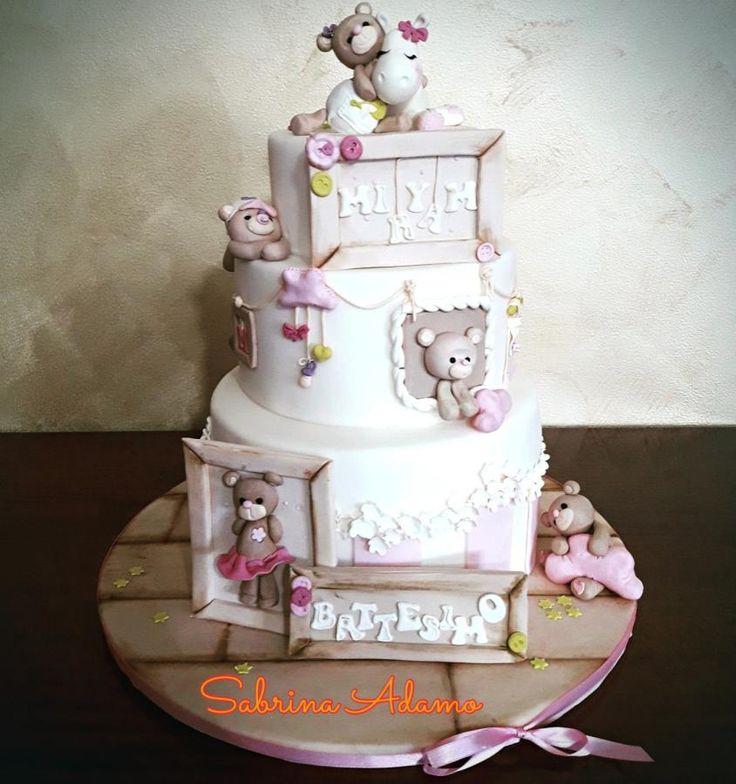 Sweet teddy - Cake by Sabrina Adamo