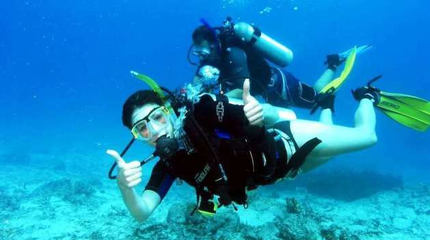Padi Open Water PADI Course, PADI Scuba Diving Course is the next level of Diving course from latest diving course within 2 days (short program). Find out how the beauty of Bali island underwater in Tulamben, Amed, Nusa Dua, Menjangan island, padang bay, and another diving spot in Bali