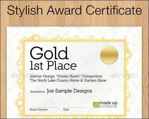 206 best Certificate Design images on Pinterest Certificate - first place award template