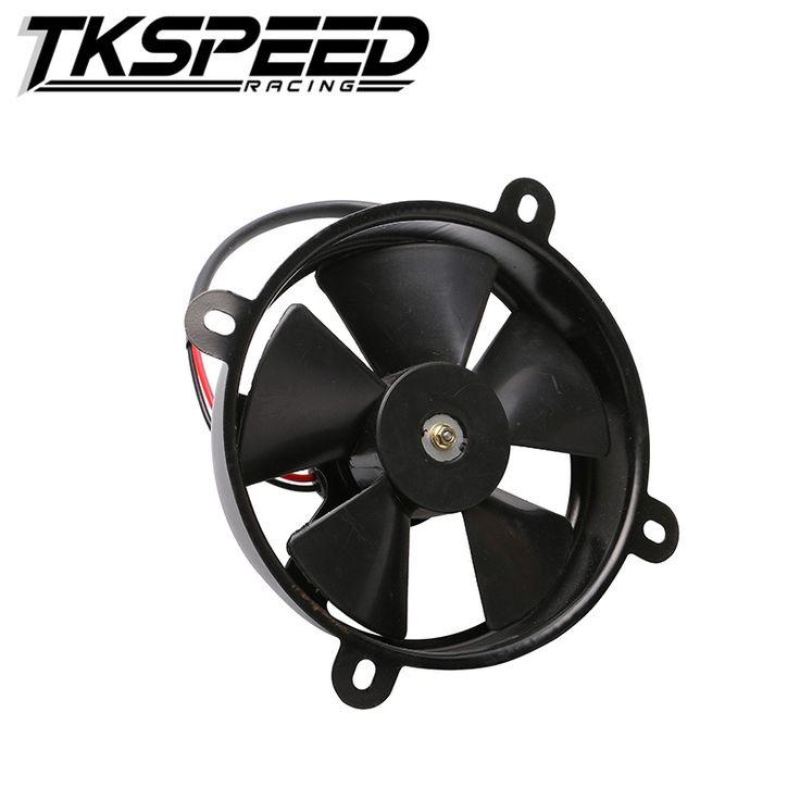 FREE SHIPPING TKSEPPD Dirt Pit Bike Motorcycle ATV Quad Oil Cooler Water Cooler Radiator Electric Cooling Fan