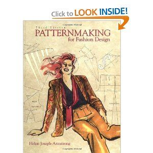 After receiving this textbook for my next degree patternmaking course in design school, I were able to read following the term was over and realized just how much we had skipped over - this book is filled with how-to info on creating not only the basic block (bodice F/B, skirt F/B, fitted sleeve) but variations of all kinds.