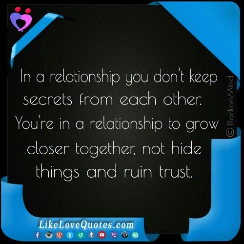 Trust Quotes For Love Relationships 2: Best 25+ Keeping Secrets Quotes Ideas On Pinterest
