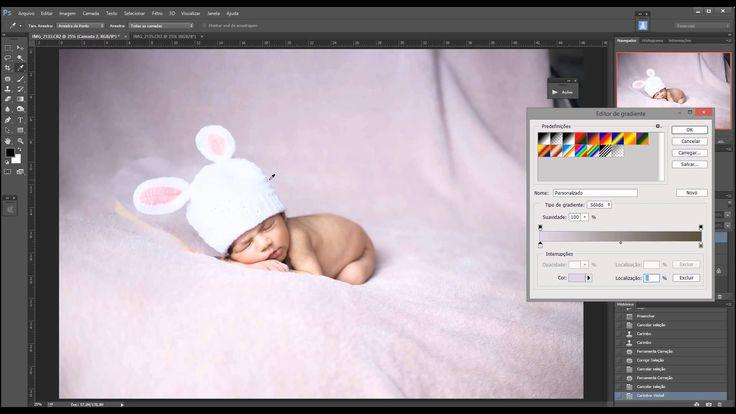 Montagem, composição de duas fotos na fotografia Newborn (Recém-nascido) e fundo infinito (Fade Blanket) passado no Workshop em São Vicente/SP, organizado pelo Foto Clube o Frame, por Stephânia de Flório  www.stephaniadeflorio.com