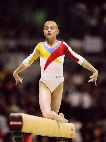 Simona Amanar. One of my original favorite gymnasts! Love her.
